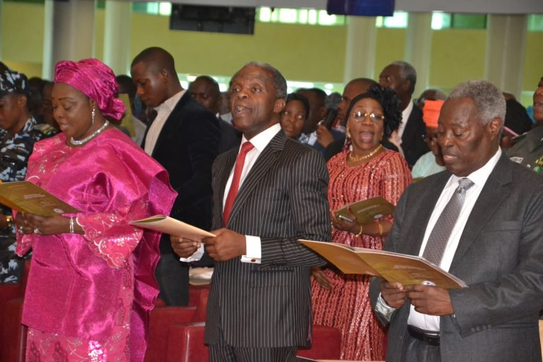 VP Osinbajo's lamentation; Says persecution of Christians on the rise in Nigeria