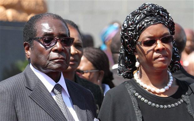 The Mugabes house burgled, lose 119 laptops