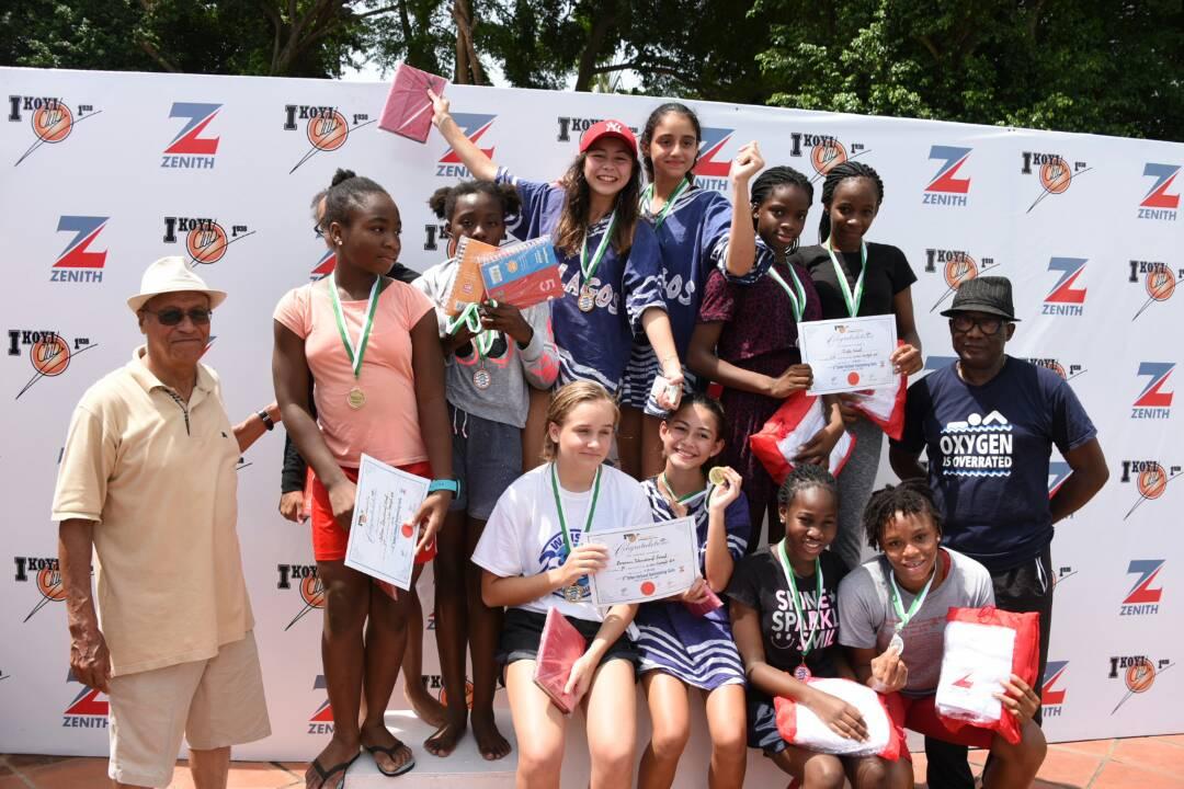 Zenith Bank/Ikoyi Club Swimming Tourney: Grange School emerges winners ahead of BIS, AIS