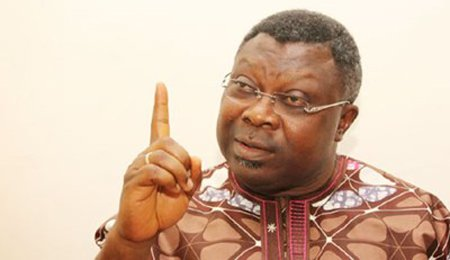 Omisore, in desperate pursuit of guber ambition eyes SDP as supporters set PDP flags ablaze