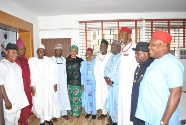 PDP shrinks further as Ali Modu Sheriff faction formally dumps party for APC