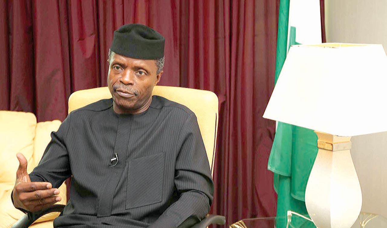 "Nigeria on path of ""resurrection and progress'' – Osinbajo"