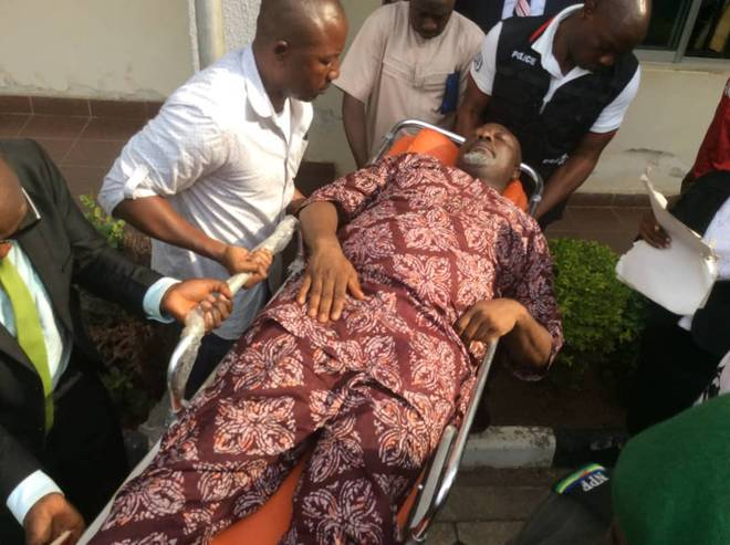 Melaye jumped off police van to avoid death after he was tear-gassed – Ozekhome