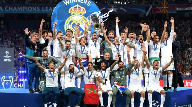 Europe conquerors, Real Madrid win third Champions League final in a row