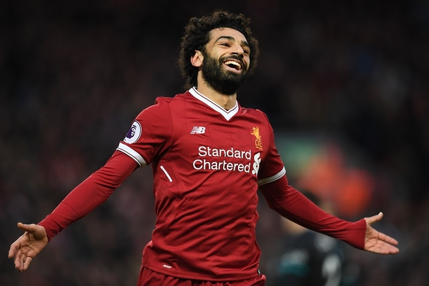 Salah voted England footballer of the year, completes double English major individual awards