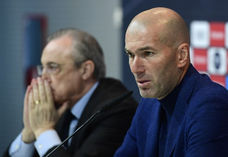 Zidane announces shock resignation as Real Madrid manager