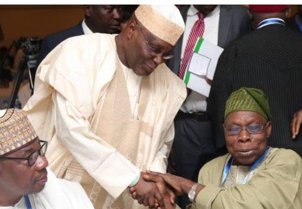 Atiku, Obasanjo finally reunite