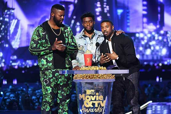 MTV Movie & TV Awards: 'Black Panther' star honours real-life hero at event