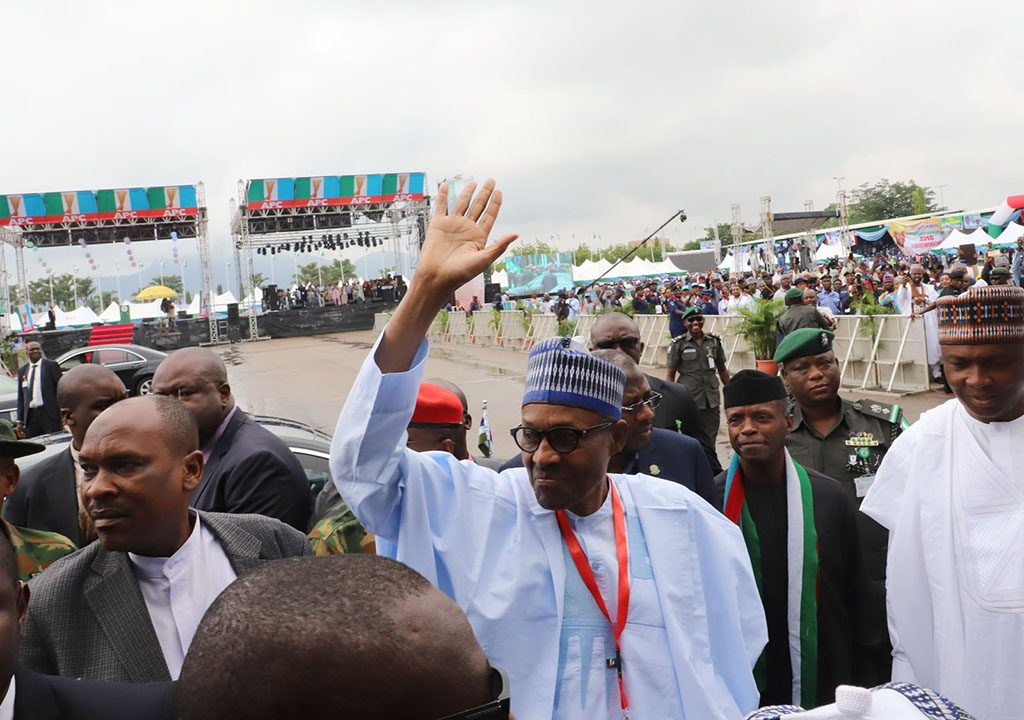 Buhari's speech at APC National Convention Abuja