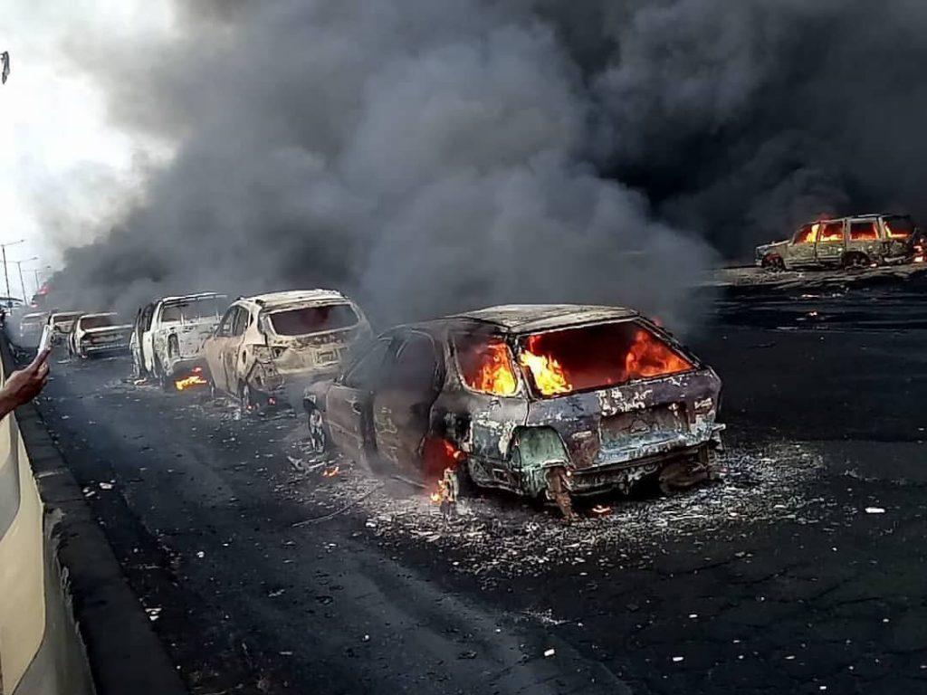 Lagos Tanker Explosion: Missing little boy not found – Family
