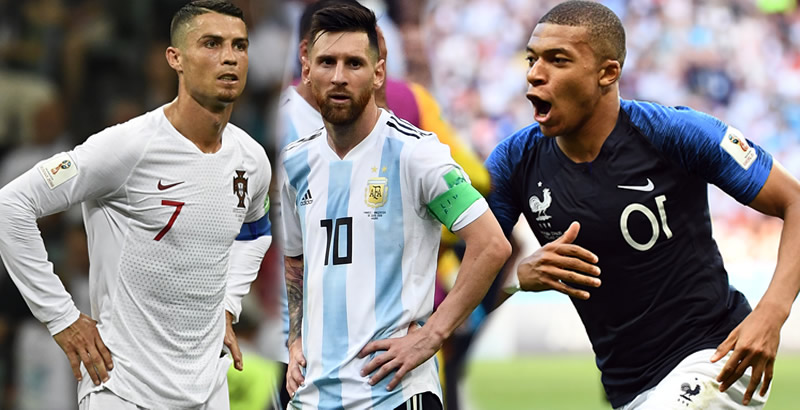 Russia 2018: Messi, Ronaldo bundled out of World Cup as new star Mbappe shines