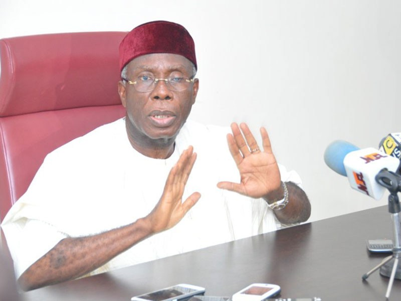 Audu Ogbeh: It's a wicked lie! Obasanjo never forced me to resign as PDP chairman