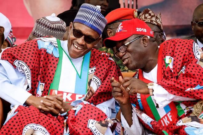 Ekiti election: Buhari congratulates Fayemi, says 'democracy has won again'