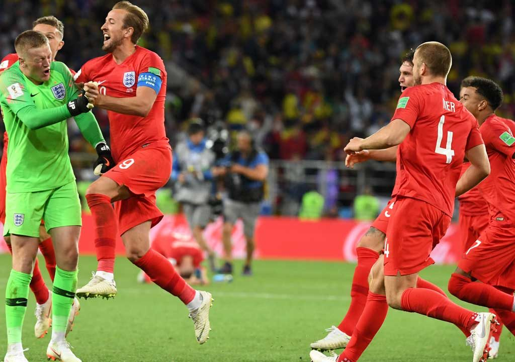 England end penalty jinx, coasts to quarter-finals on 4-3 penalty shoot-outs
