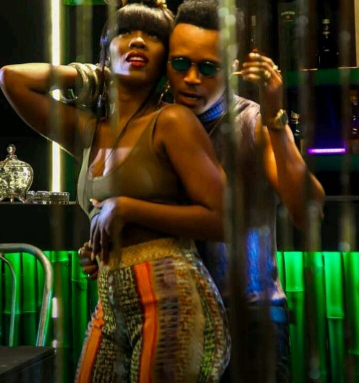 Social media space set agog as Humblesmith, Tiwa Savage super-hot pictures pop up