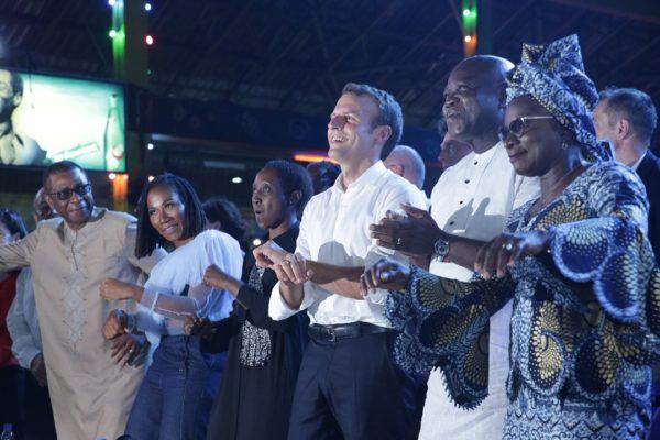 Why I chose to visit Afrika Shrine – Macron
