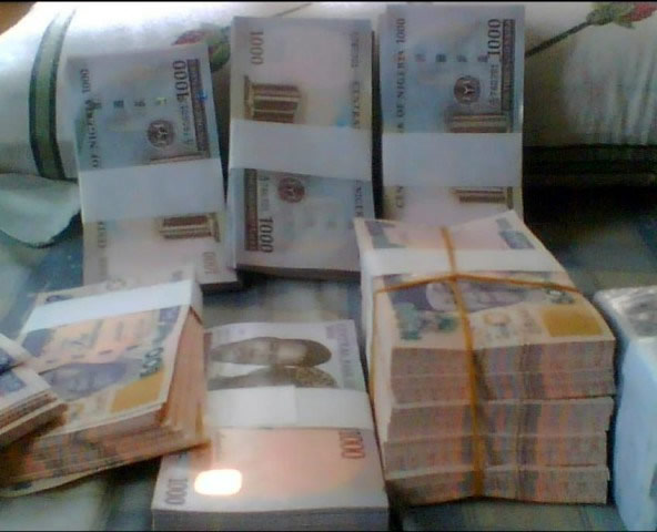 CBN warns it's a criminal offence to spray, sell, deface naira notes