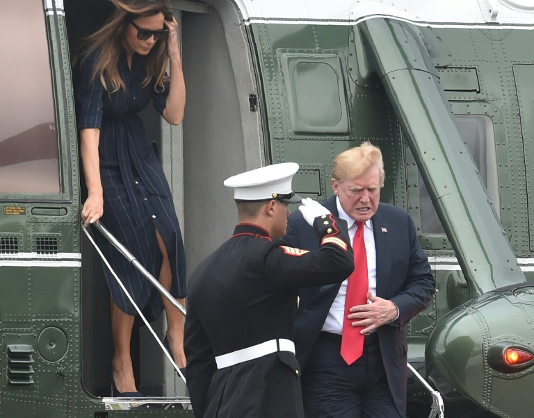 Trump hits back at Iran 'war' talk
