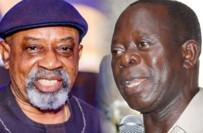 Oshiomole threatens to expel Ngige from APC