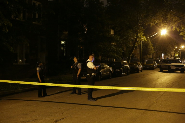Five killed, forty-four shot in Chicago 'violent night'