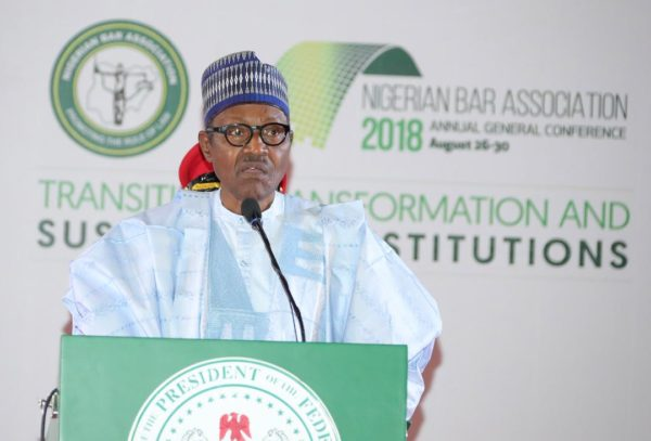 Buhari declares national security can't be sacrificed for rule of law