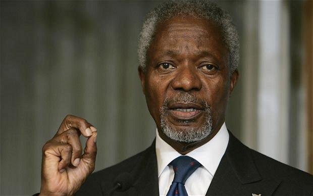 Ex-UN Chief Kofi Annan dies at 80
