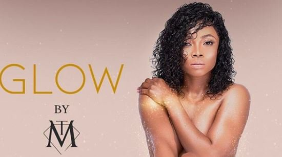 Uproar on social media as Toke Makinwa goes nude to promote new product