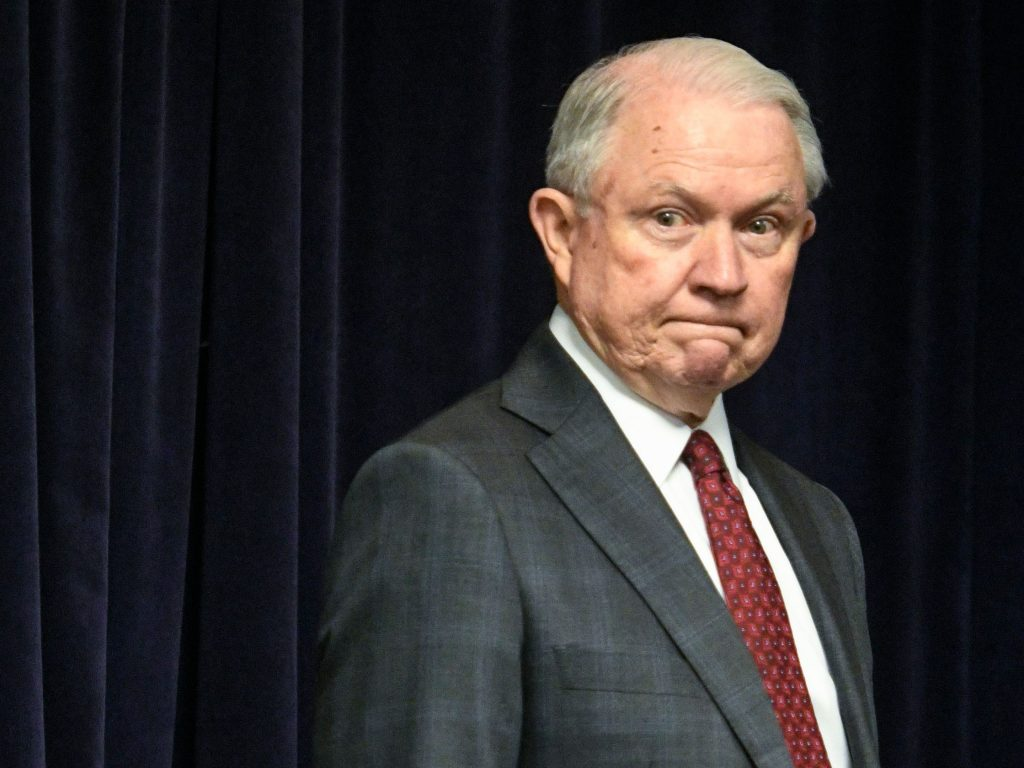 Breaking: Trump begs attorney general Sessions