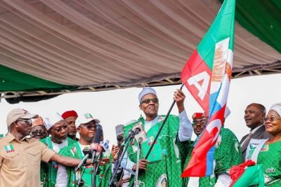 Osun 2019: See Nigerians' Twitter comments, views on APC rally at Oshogbo