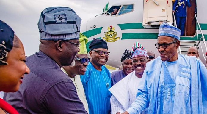 Osun 2018: Buhari says Nigeria must be free of corrupt leaders, seeks support for APC, Oyetola