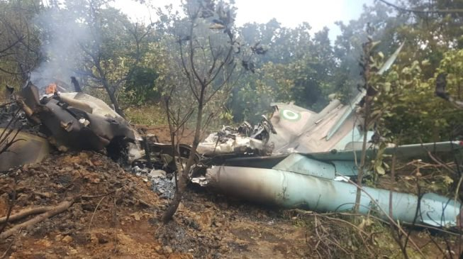 Two Nigerian Air Force jets crash in Abuja