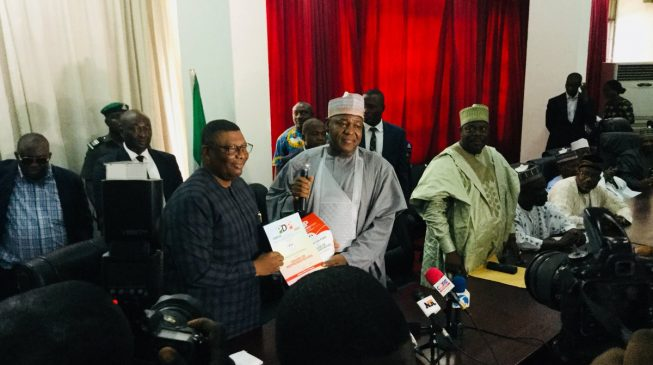 Dogara defects back to PDP, says APC full of people with personal interests