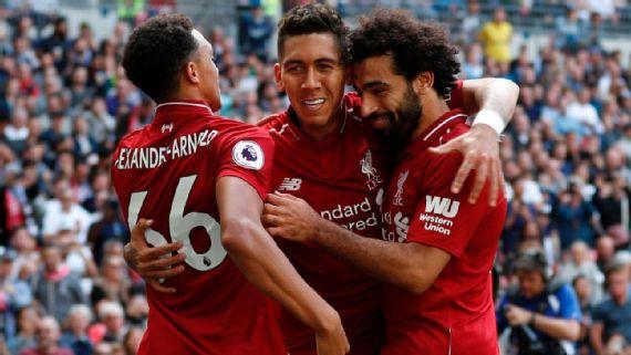 EPL: Liverpool beat Tottenham Hotspur at Wembley