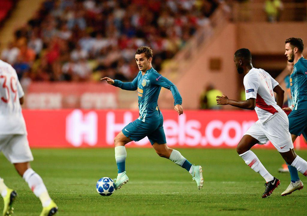 Atletico's Griezmann, Costa combinations undo Monaco
