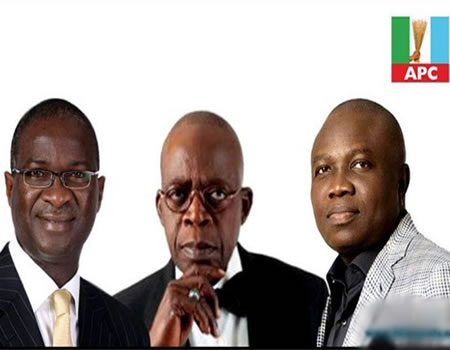 Report: Tinubu insists no second term for Ambode!
