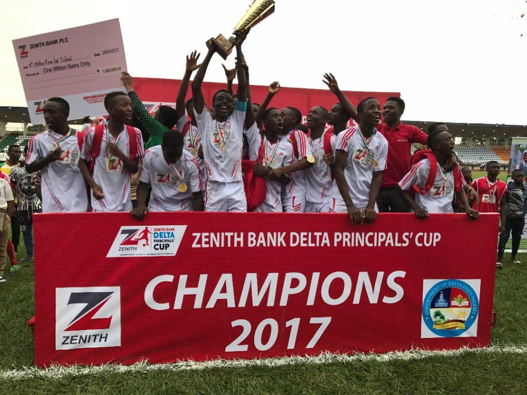 2018 Zenith Bank-Delta Principals' Cup kicks off Oct 31