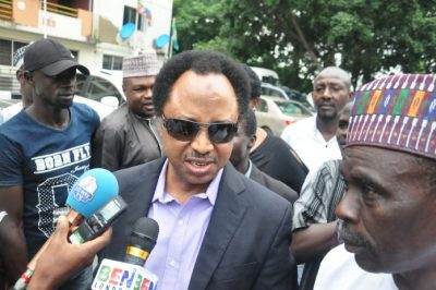 Shehu Sani vows to contest in 2019, to announce new party on Tuesday