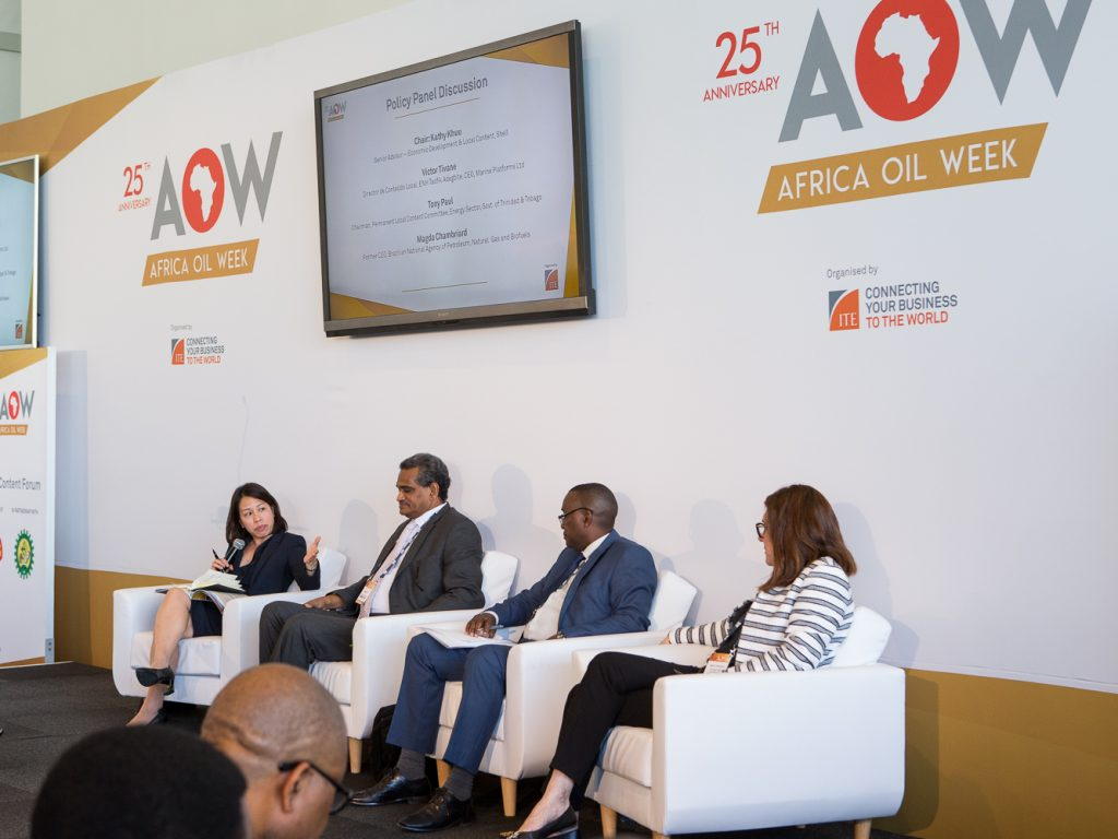 Africa Oil Week 2018 successfully closes with a promising outlook for Africa oil and gas industry