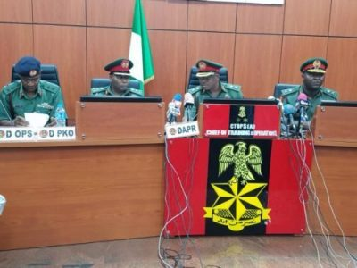 Nigerian Army cautions groups, individuals over dissemination of fake videos, threatens legal action