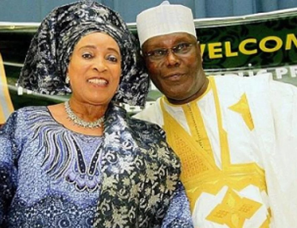 Atiku is not corrupt, his patriotism made me fell in love – Wife, Titi Abubakar