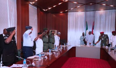 Metele Killings: Buhari summons service chiefs over Boko Haram attacks