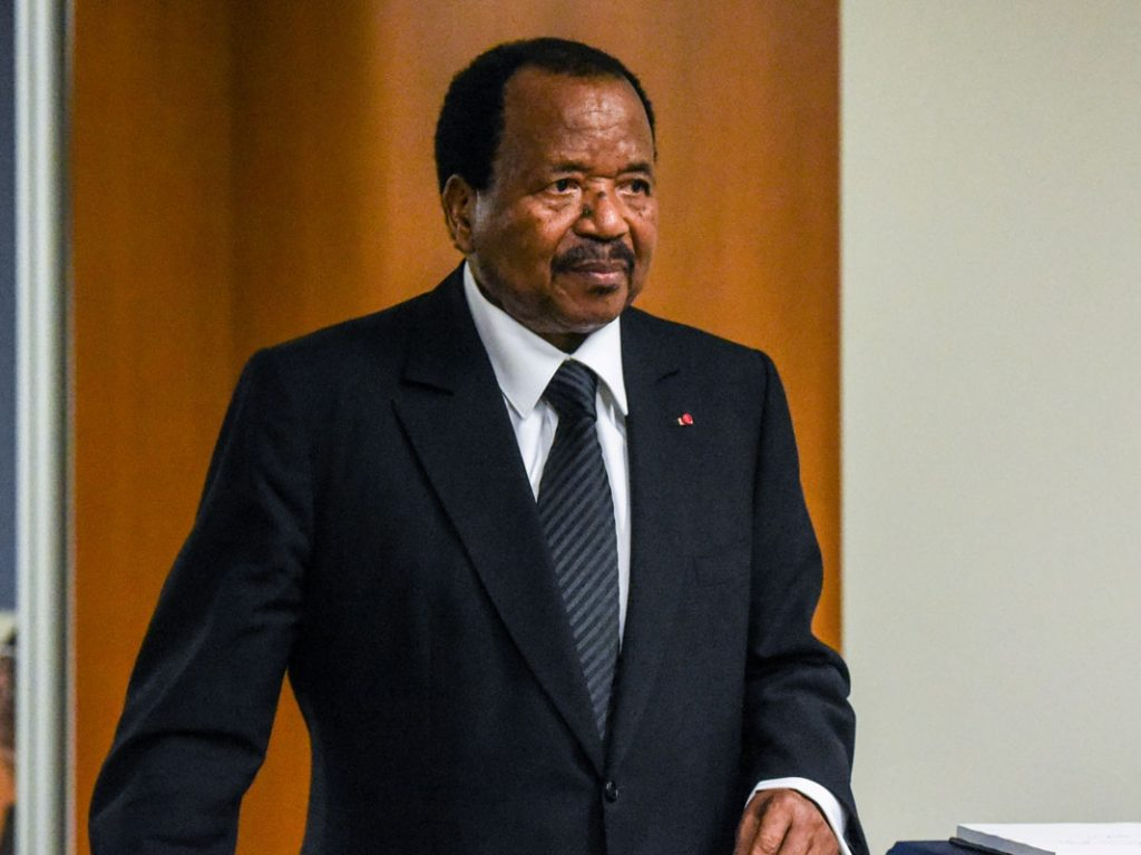 Cameroon's Biya acknowledges anglo 'frustrations' at swearing in