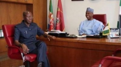 Saraki to Oshiomhole: Quit now! You have no moral ground to be in politics