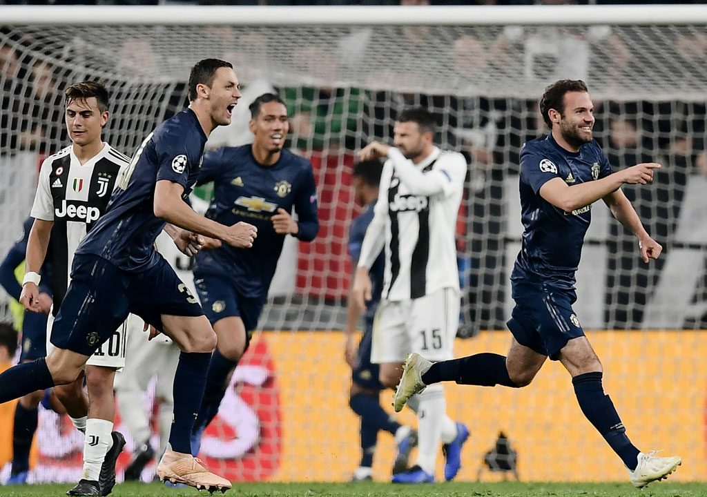 UCL: Man Utd beats Juventus in Turin