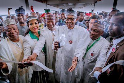 Buhari inaugurates Abuja airport terminal