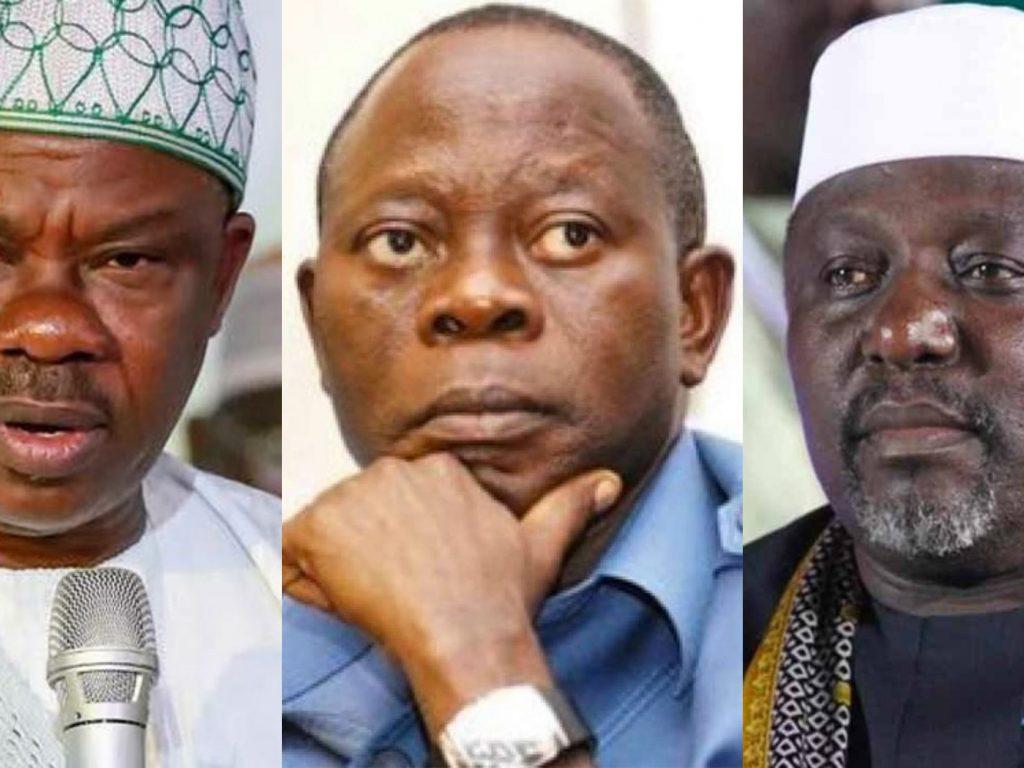 Your candidates are fake – Oshiomhole mocks Amosun, Okorocha