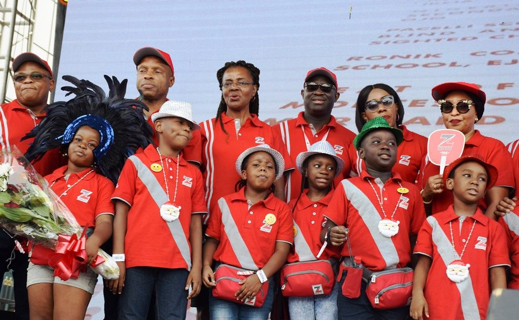 CEO Peter Amangbo reaffirms Zenith Bank's focus on youth development at  Annual Christmas Parade