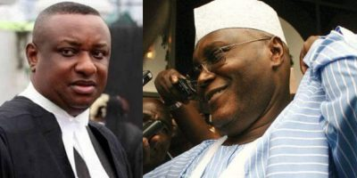 Keyamo tackles Atiku, PDP, says Produce evidence of corruption against Buhari or keep quiet forever