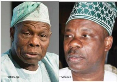 Obasanjo to Amosun: Isiaka is my preferred candidate, warns Akinlade, others against violence