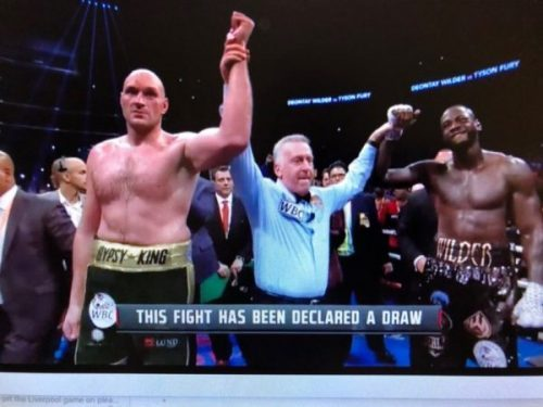WBC approves Wilder, Fury rematch